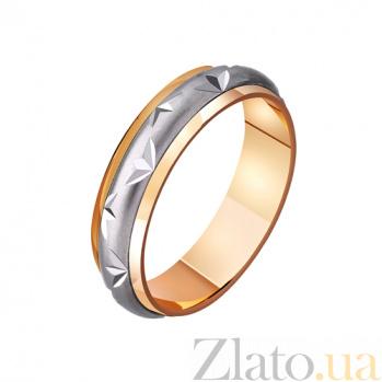 Золотое обручальное кольцо Сады любви TRF--421116