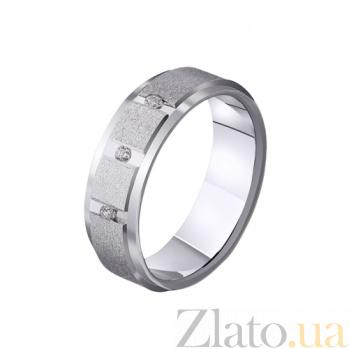 Золотое обручальное кольцо Совершенство любви с фианитами TRF--4221133