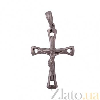 Крест из белого золота Одухотворение 000026415