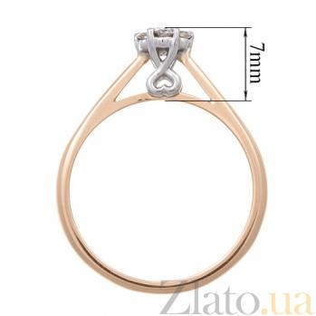 Кольцо из красного золота с бриллиантами Элизабет KBL--К1725/крас/брил