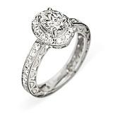 Кольцо из белого золота с бриллиантами Juliet