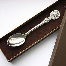 Серебряная чайная ложка Гороскоп Водолей