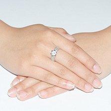 Кольцо из белого золота Светлое чувство