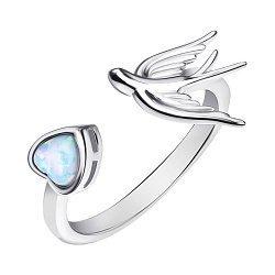 Серебряное кольцо с опалом 000139616