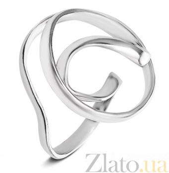 Серебряное кольцо Серпантин С4