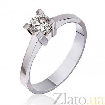 Золотое кольцо с бриллиантом Нежное прикосновение EDM-КД7418/1