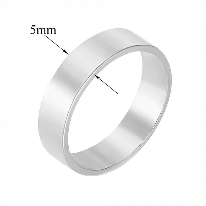 Серебряное обручальное кольцо Амрит 000032387
