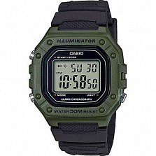 Часы наручные Casio Collection W-218H-3AVEF