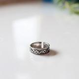 Серебряное кольцо на фалангу Кайма