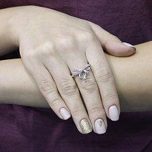 Серебряное кольцо Сюрприз с аметистом