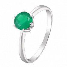 Серебряное кольцо Амритта с агатом