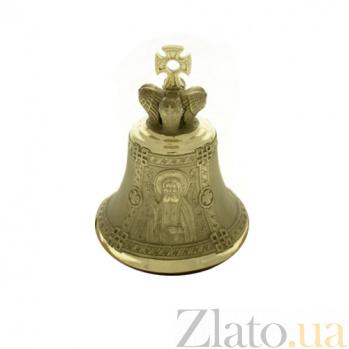 Бронзовый именной колокольчик Св. Серафим K6211