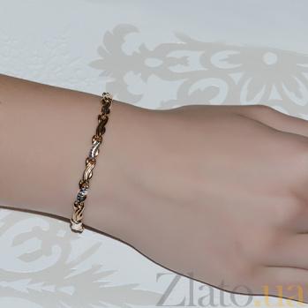 Золотой  браслет Оляна LEL--44028