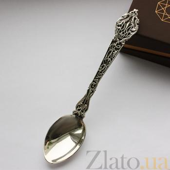 Серебряная чайная ложка Украина 000027366
