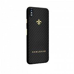 Apple IPhone X Noblesse CARBON EDITION в черном карбоне и желтом золоте 000118841