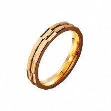 Золотое обручальное кольцо My Love