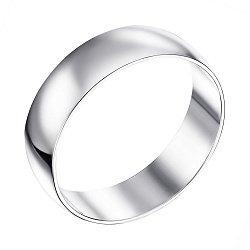 Обручальное кольцо из белого золота 000103669, 5мм