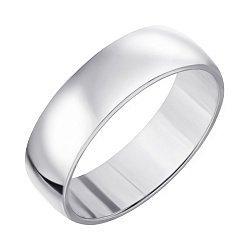 Серебряное обручальное кольцо 000011815