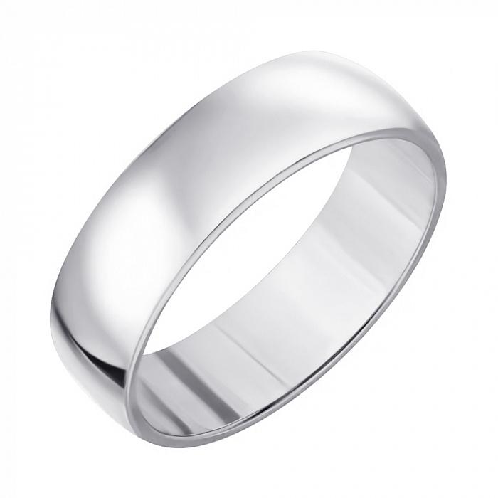 Серебряное обручальное кольцо Классика HUF--10201-ДР