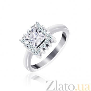 Серебряное кольцо с фианитами Эстер 000025502