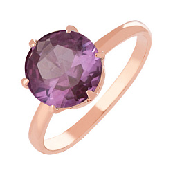 Золотое кольцо с александритом Корнелиа 000024483