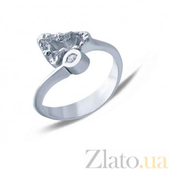Серебряное кольцо  AQA--АНТ 004б