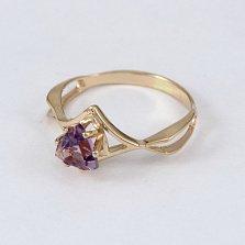 Золотое кольцо с аметистом Филадельфия