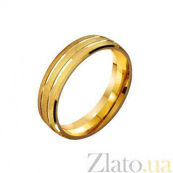 Золотое обручальное кольцо Любящая пара TRF--4111664