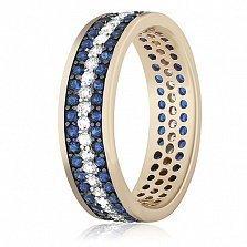 Серебряное кольцо с цирконием Энрика