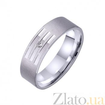 Золотое обручальное кольцо Струны любви TRF--422319