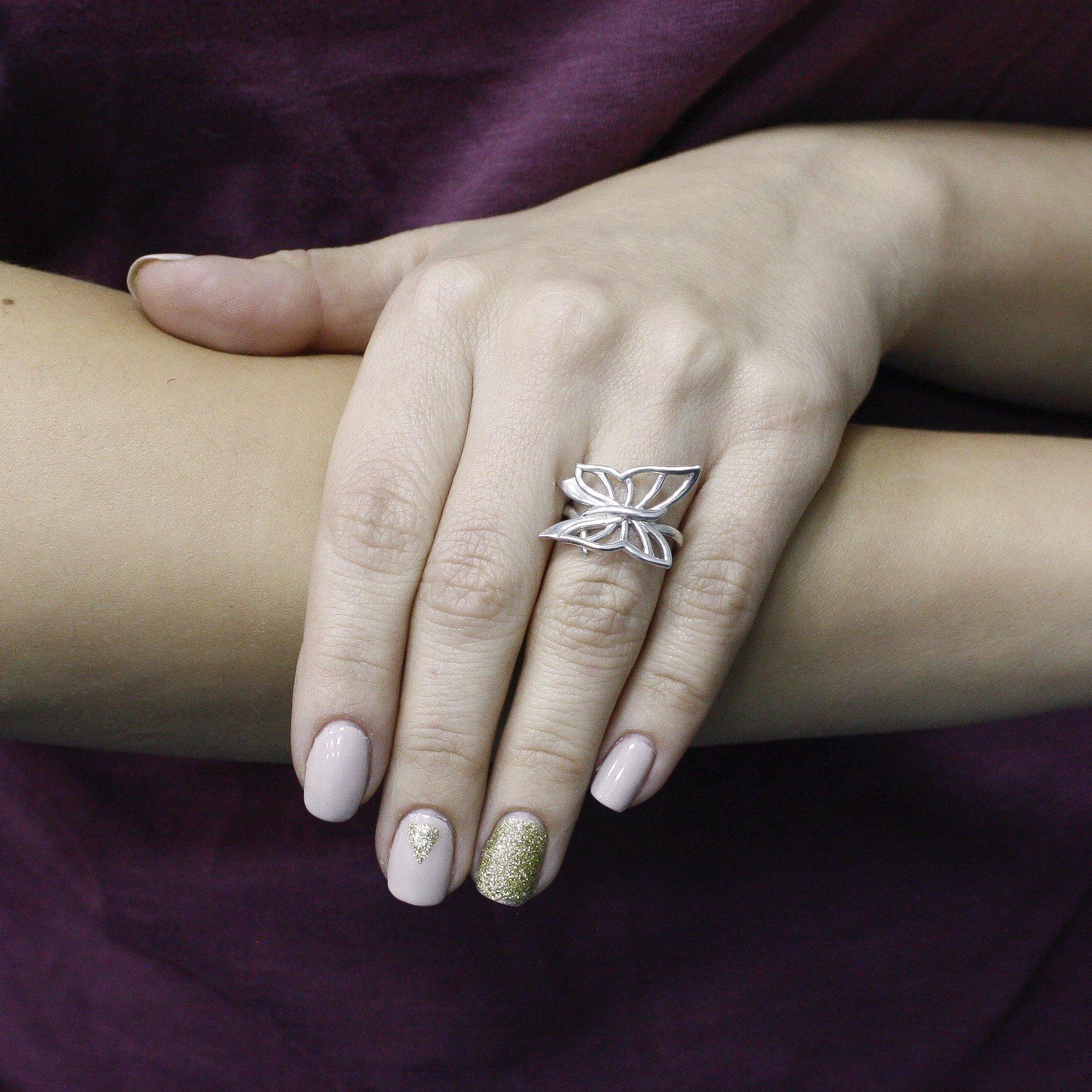 Серебряное кольцо Маленькое чудо