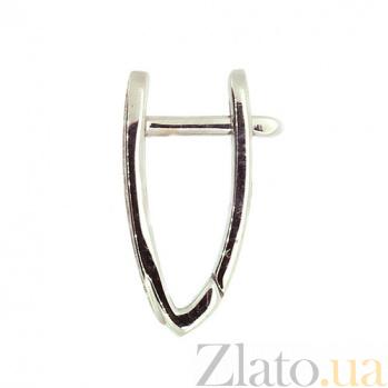 Серьги-трансформеры белого золота с бриллиантами Джая ZMX--ED-6786w_K