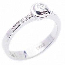 Золотое кольцо с бриллиантами Непобедимая любовь