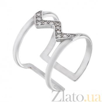 Серебряное кольцо с фианитами Аарен AUR--71404бau