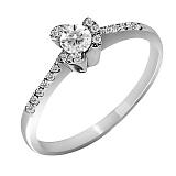 Кольцо из белого золота Маграна с бриллиантами
