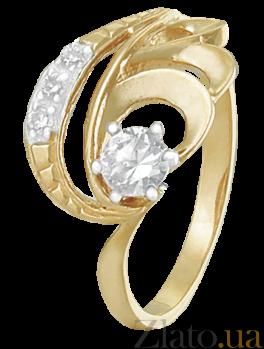 Кольцо из серебра с фианитами Сумантра 000025588