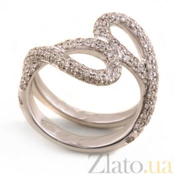 Кольцо Hausmann из белого золота с бриллиантами R-Hsm-W-40d