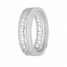 Серебряное кольцо My Way с фианитами