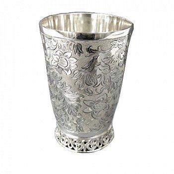 Срібна склянка Вінтажний стиль 000043487