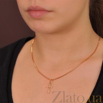 Золотой крестик Виктория EDM--КР0145