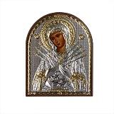 Икона Богородица Семистрельная, 85х105мм