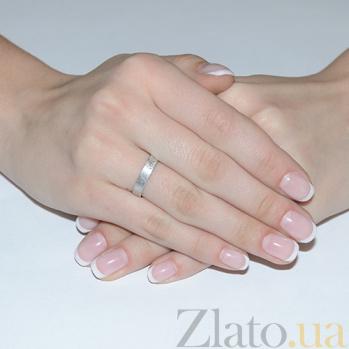 Обручальное кольцо из белого золота Идеальный брак TRF--4211302