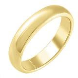 Обручальное кольцо Вселенная из желтого золота
