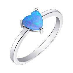 Серебряное кольцо с опалом 000139624