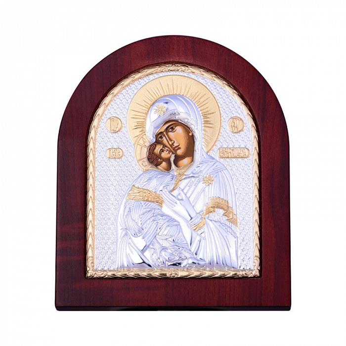 Посеребренная икона Владимирская Божья Матерь 000134538 000134538
