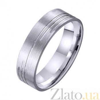 Золотое обручальное кольцо Высшее чувство TRF--421700