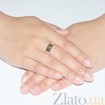 Золотое кольцо с цирконием Эрика 3522006