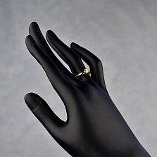 Кольцо в желтом золоте Первая любовь с бриллиантом