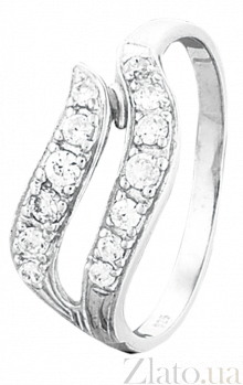 Кольцо из серебра с фианитами Монкут 000025816