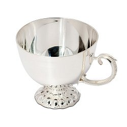 Серебряная кофейная чашка Изящество, 80мл 000043531